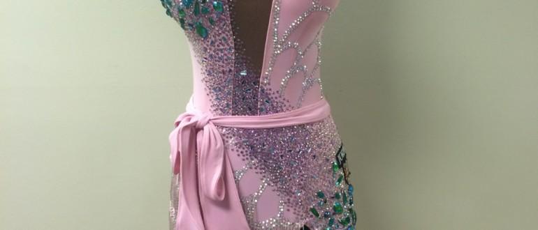 RYDance   Pink Latin Ballroom Dress
